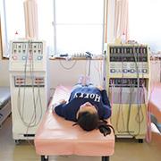 選び抜いた治療器と、その治療器を最大限発揮させるノウハウを持っています。